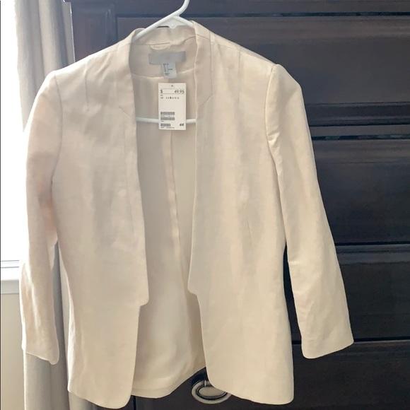 H&M Jackets & Blazers - Linen blazer